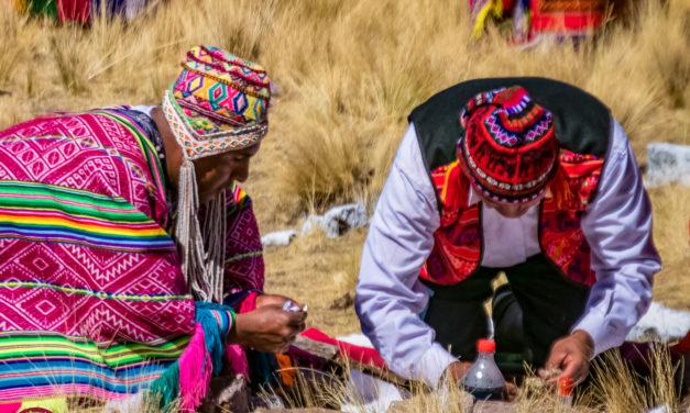Ofrenda a la Madre Tierra (Pachamama)